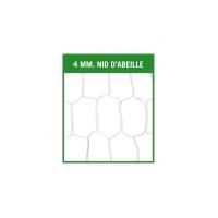 Filets Nid d'Abeille - Blanc - 11 joueurs