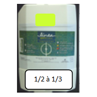LINEA TRACAGE 402-Jaune - 15 kg soit environ 40 L de mélange dilué