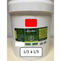 LINEA TRACAGE 466 ECOLOGIQUE ROUGE - 15 kg soit environ 69 L de mélange dilué