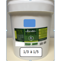 LINEA TRACAGE 466 ECOLOGIQUE BLEU 15 kg soit environ 69 L de mélange dilué